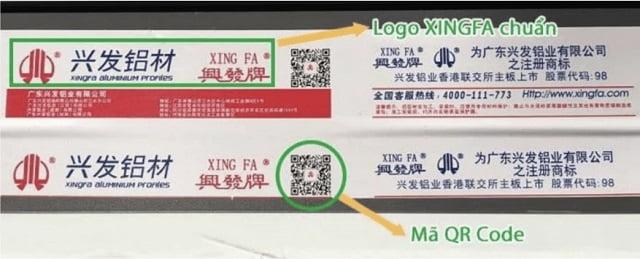 Báo giá cửa nhôm Xingfa
