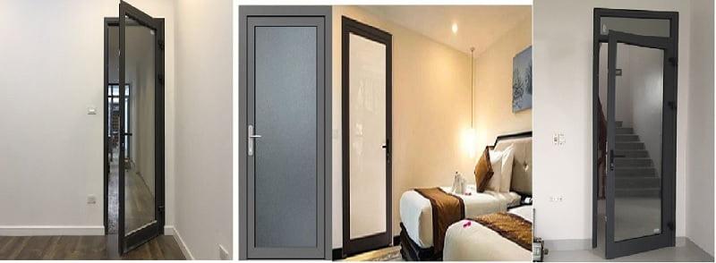 cửa phòng ngủ nhôm xingfa