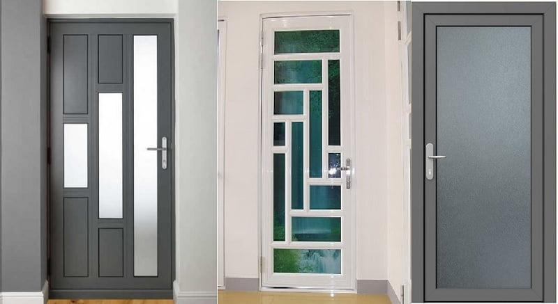 Mẫu cửa nhôm kính phòng khách ĐẸP