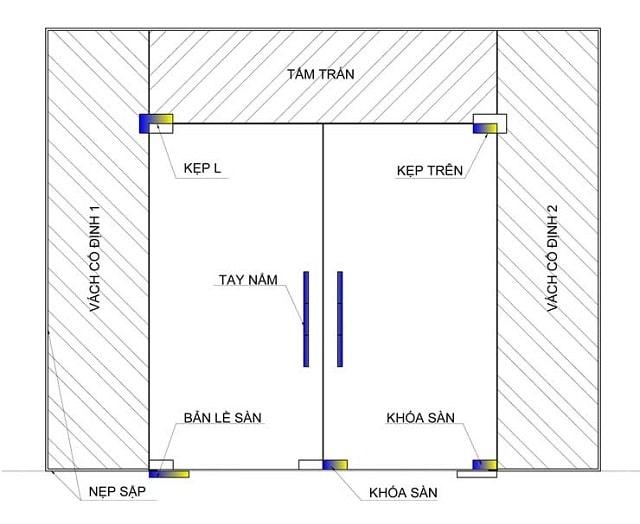 Chuyên cửa kính thủy lực chính hãng uy tín - giá rẻ tại Hà Nội