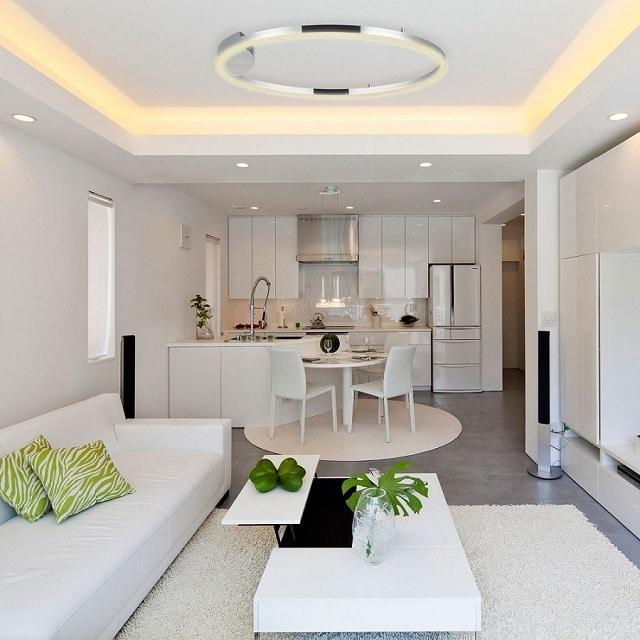 Top 30 mẫu trần thạch cao chung cư đẹp với giá cực rẻ 2021