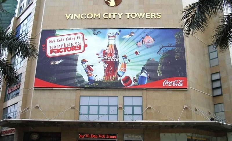Dịch vụ thi công biển quảng cáo đẹp - giá rẻ tại Hà Nội