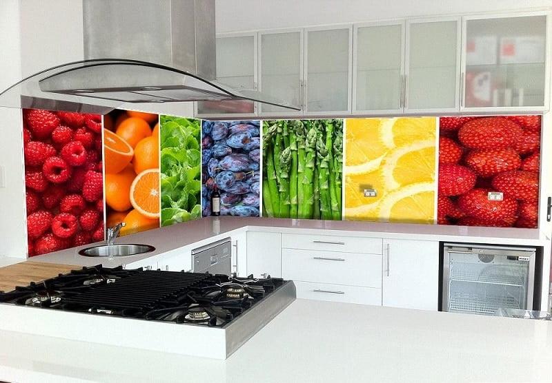 Những mẫu kính ốp bếp hoa văn đẹp - Hot nhất 2021