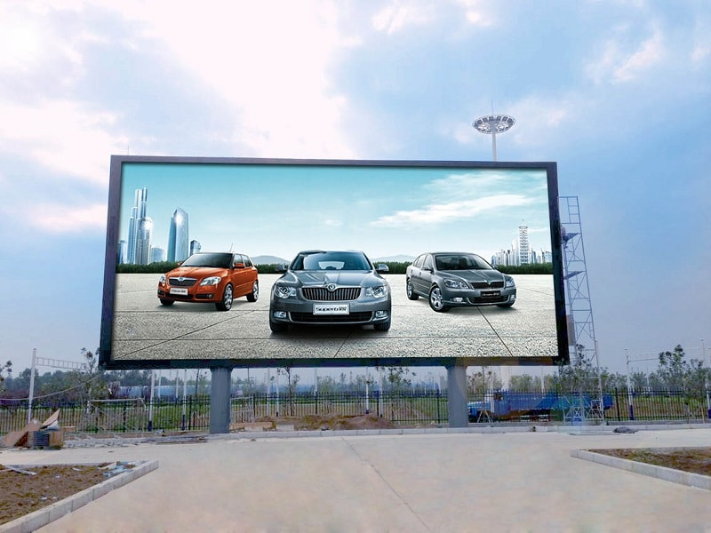 Những mẫu quảng cáo màn hình Led ngoài trời ấn tượng nhất 2021