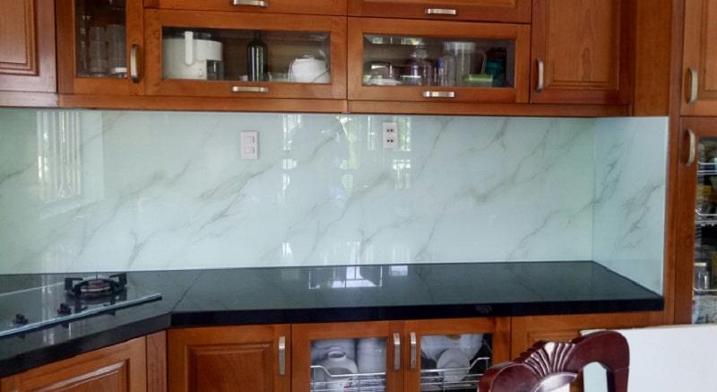 Báo giá kính ốp bếp - kính cường lực giá rẻ tại Hà Nội - HCM