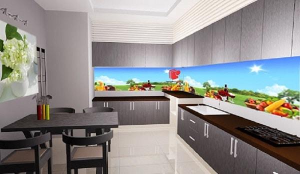 Top 20+ mẫu tranh kính 3D - tranh kính 3d ốp bếp nghệ thuật ấn tượng nhất