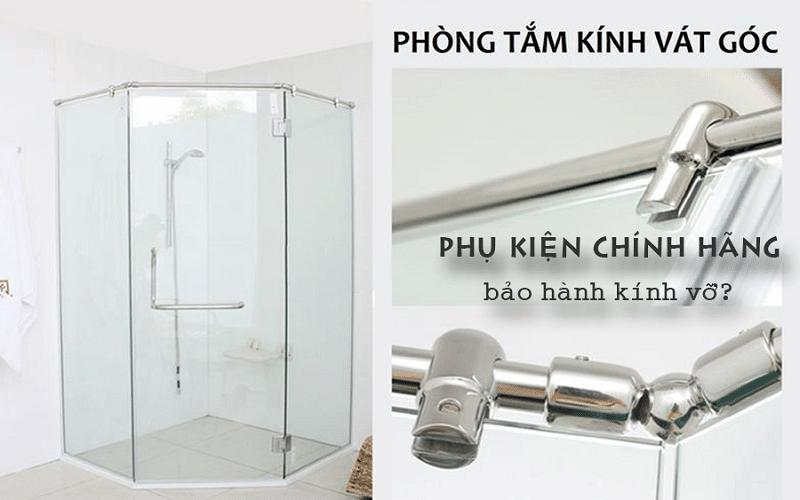 Tổng hợp mẫu cabin phòng tắm kính 135 độ đẹp nhất 2021