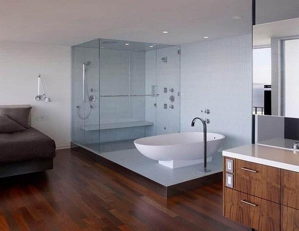 Top 30 mẫu cabin phòng tắm kính đẹp ưa chuộng nhất 2021