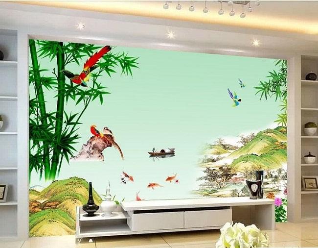 20+ mẫu tranh kính 3D nghệ thuật ấn tượng cho phòng khách.
