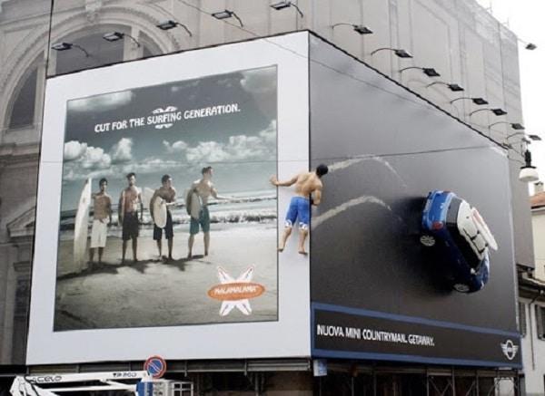 Tổng hợp mẫu biển quảng cáo kép ấn tượng nhất hành tinh