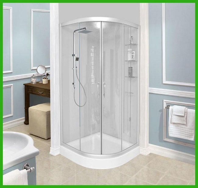 Kích Thước Phòng Tắm Kính - Cabin Tắm Đứng Tiêu Chuẩn là Bao Nhiêu?