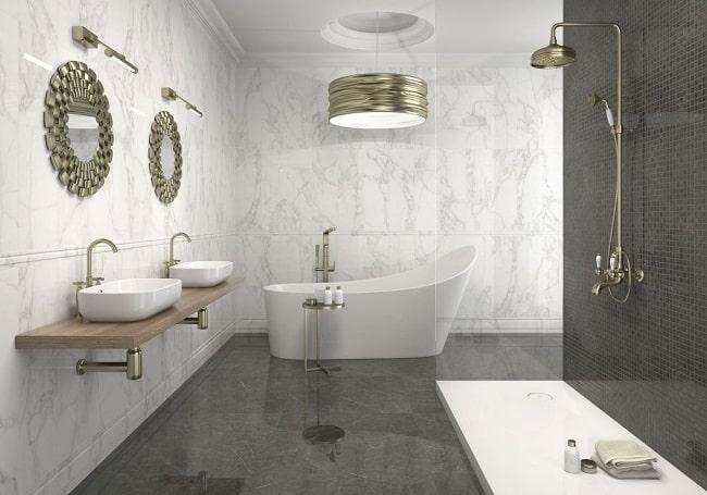 Top những mẫu gạch ốp nhà vệ sinh ấn tượng