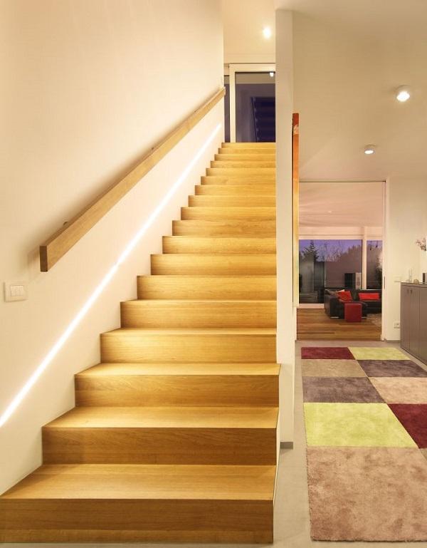 Chiêm Ngưỡng 25 Mẫu Cầu Thang Gỗ Đẹp Cho Nhà Ống Đẹp 2021