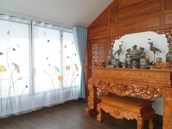 59 Mẫu Rèm Phòng Thờ Đẹp| Mành Che Bàn Thờ Phong Thủy Giá Rẻ